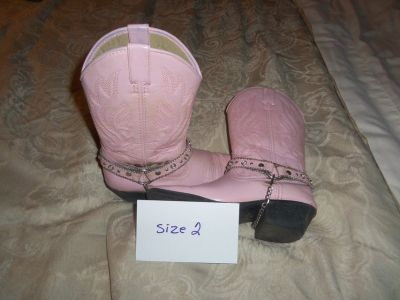 Girl Pink Boots