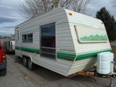 1981 Fleet Wood Travel Trailer 21ft