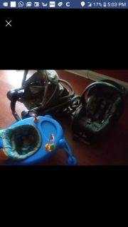 Baby Stroller, Car Seat, and Walker