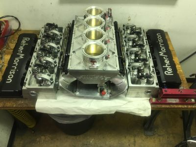 Complete top end for 5.3 nitrous pro mod