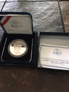 Lincoln Silver Commemorative