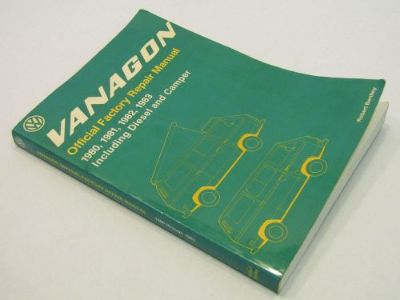 Buy 1980 1981 1982 1983 VW VolksWagen Vanagon Service Repair Shop Manual Book motorcycle in Bethpage, Tennessee, United States, for US $69.90