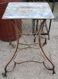 Table stand metal