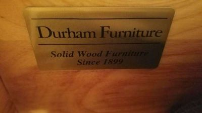 Durham Furniture Wood King Sized Bedroom Set