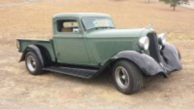 1935 Dodge short bed suicide door pickup