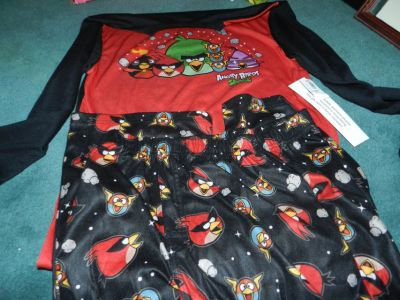 Boys size xl (14) Angry birds P.J. new with tags