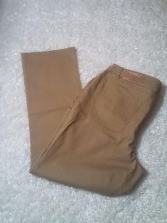 Coldwater Creek Natural Fit Natural Mini Bootcut Womens Size 18 Brown Beige Jeans NEW