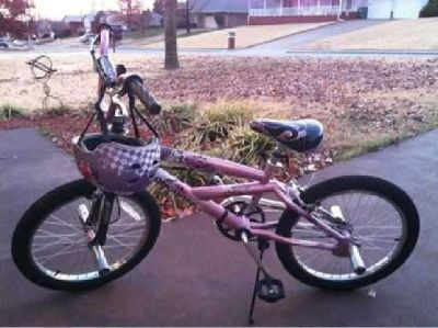 $80 Kids Mongoose Bike and Helmet (Springdale)
