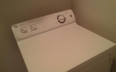 $100, GE 7.0 Cubic Foot Electric Dryer