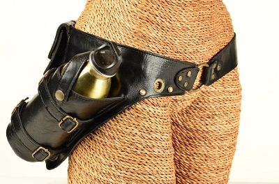 Buy Leather Pocket Utility Belts Online for Festivals
