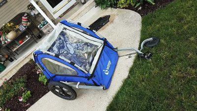 Instep quick and easy bike trailer NOT SUITABLE FOR KIDS