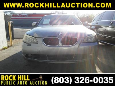 2004 BMW 5-Series 545i (Gray)