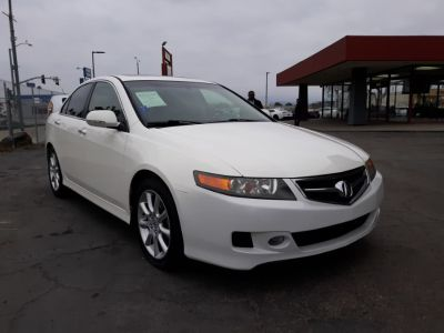 2007 Acura TSX Base (White)