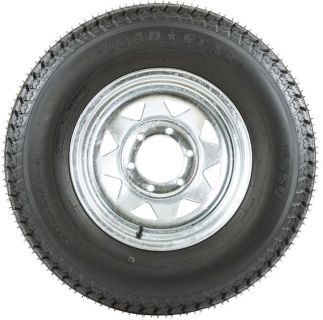 "Sell 15"" GALVANIZED WHEEL-225/75/15 BOAT-CAMPER TRAILER SPARE RIM +TIRE (WHEEL-15G) motorcycle in West Bend, Wisconsin, US, for US $124.99"