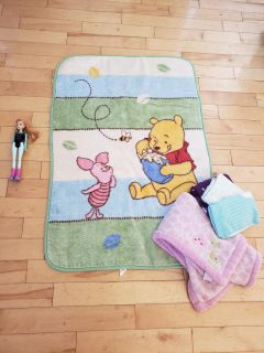 Winnie the Pooh floor/thick blanket and others