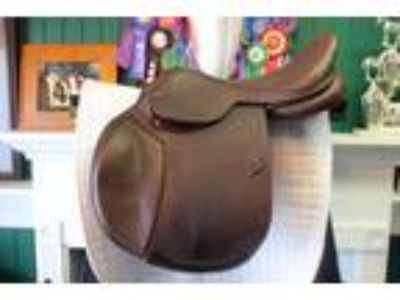 M Toulouse Jeninne Platinum Jumping Saddle 18