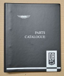 Purchase ASTON MARTIN DB5 PARTS CATALOG FACTORY ISSUE BRAND NEW motorcycle in Redding, California, United States, for US $185.75