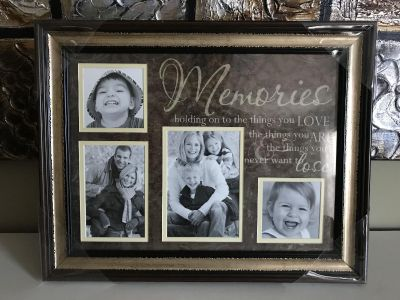 Memories picture frame NEW