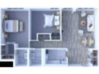 Maple Grove Apartments - Two BR Floor Plan B1