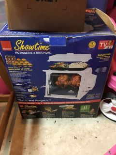EUC rotisserie and oven