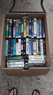 Huge box of vhs price for all