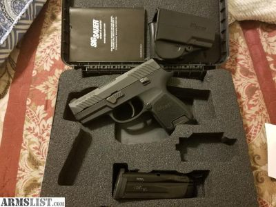For Sale/Trade: SIG P320 SUBCOMPACT 9MM NITE SITES