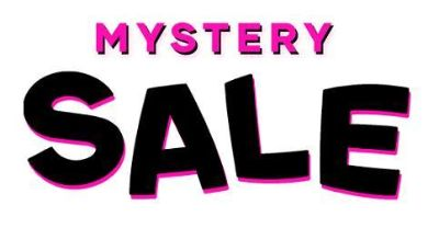 Free Mystery Sale Cleanout Event! This..
