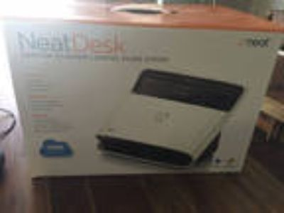 NeatDesk Desktop scanner + Digital Filing System for Windows