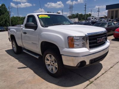 2007 GMC Sierra 1500 Work Truck (White)