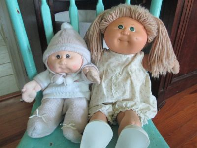 Xavier Roberts Vintage Cabbage Patch baby dolls