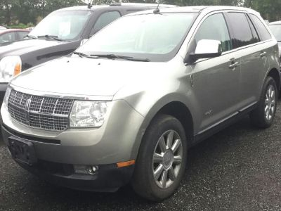 2008 Lincoln MKX Base (Vapor Silver Metallic)