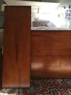 Gathering Table all wood w/4 chairs EUC