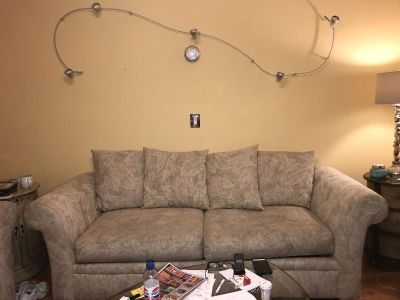 SOFA SLEEPER AND LOVE SEAT-MUST GO-ALL OFFERS CONSIDERED
