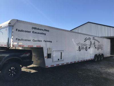 48 ft enclosed Cargo Trailer
