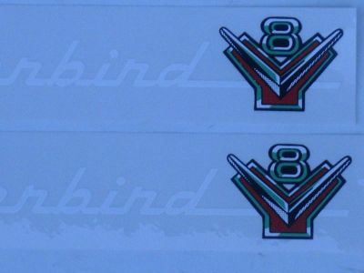 Purchase 54 55 56 FORD 272 292 312 ENGINE VALVE COVER DECAL SET NEW motorcycle in Indianapolis, Indiana, US, for US $12.00