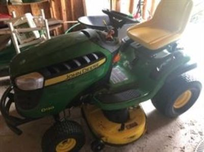 John Deere riding mower, Disney items & comics galore