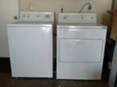 Kenmore Series 80 Electric Washer and Dryer Pair