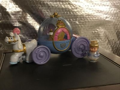 Little People Cinderella and carriage