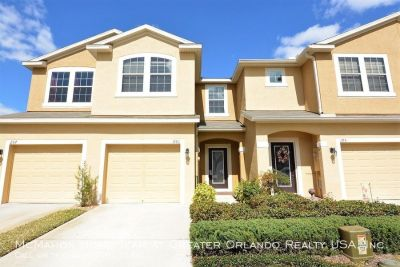 OVIEDO 3br 2.5ba townhome in Arborview Park. Tile floors, Community Pool, 1 car garage...