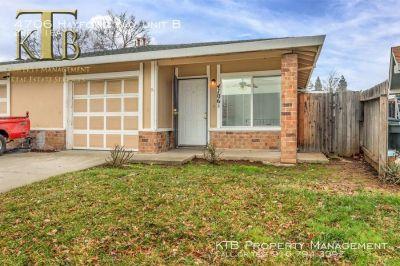 Updated duplex with nice backyard