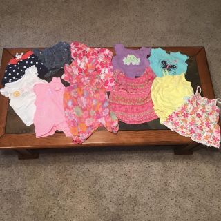 6-9 month lot Baby Girl Clothes- Sold together