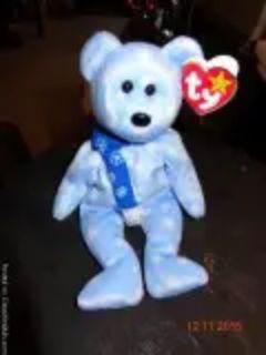 Beanie Baby Holiday Teddy