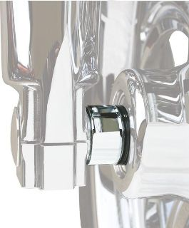 Purchase FAT BAGGERS CHROME FRONT WHEEL SPACER--25MM WITH ABS HARLEY FL TOURING 08-11 motorcycle in Gambrills, Maryland, US, for US $34.95