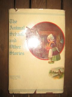 Antique 1914 hardcover children's book with orig. dust cover.
