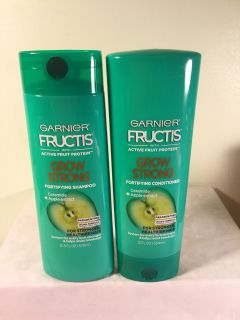 Garnier Fructis Grow strong fortifying shampoo and conditioner set