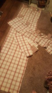 """set of curtains 2 are 42"""" 78"""" and 1 is 14"""" 51"""" waverly"""