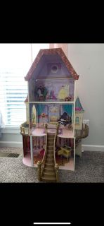 Doll house wooden