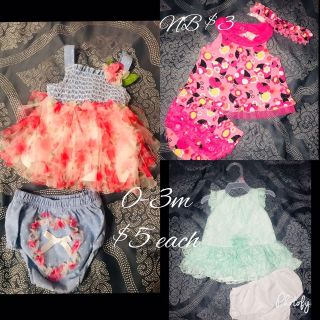 Baby girl clothes (all pictures are different)