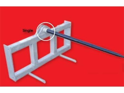 2015 Modern Ag Products Single Universal Quick Attach Hay Spear