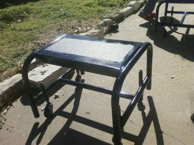 step stools with wheels